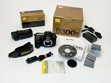 Nikon D300S 12.3 Mp Digital Slr Camera - Black (Body Only) +Mb-D10 Grip and More