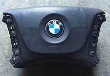 BMW E39 525i 530i DRIVER STEERING WHEEL AIRBAG AIR BAG AUDIO CONTROLS