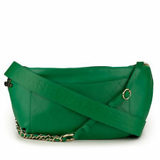 NEW CHANEL x Pharrell Williams Green Leather Oversized Waist Shoulder Bag Vert