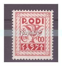 EGEO RODI  1934  -  SEGNATASSE   CENTESIMI 60   NUOVO **
