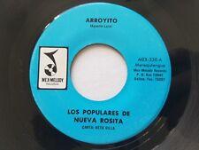 """LOS POPULARES de NUEVA ROSITA - Arroyito / Dulce Cantar RARE LATIN CUMBIA 7"""""""