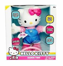 Hello Kitty Dance Time Plush - Dances to any song