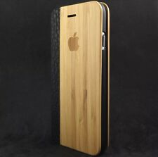 iPhone 6/6s Plus ( Large iPhone ) Wood Flip Case Cover 100% Wood✔100% Leather✔️
