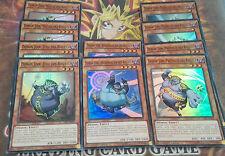 Yu-Gi-Oh! Base Deck /Lot de 10 Cartes Démon Jinn des Rituels VF /Juge, Exorciste