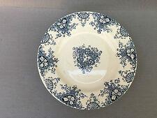 Ancienne assiette pied douche porcelaine K et G déco vintage french antique