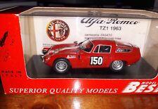 Best 1/43 Alfa Romeo TZ1 #150 Tour de France 1964 9074