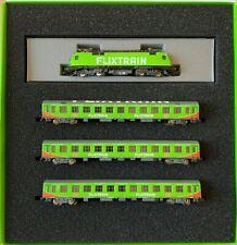 Lemke LC 95001 Flixtrain Set 1 4-tlg. BR182, Bomz236, 2x Bom024 SpurN  #NEU