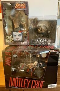 """McFarlane Toys Motley Crue """"Shout at the Devil"""" Deluxed EdItion With Ozzy Bundle"""