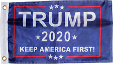 DONALD TRUMP 2020 Keep America First FLAG 3x5 Double Sided 150D NYLON Grommets