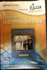 Prentice Hall Literature : PH SuccessNet Teacher's Online Access Pack: PLATINUM
