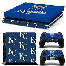 PS4 Skin & Controllers Skin Vinyl Sticker For PlayStation 4 Royals Mlb