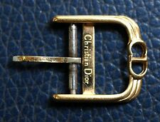 Vintage CHRISTIAN DIOR  GOLD PLATED 14mm BUCKLE FREE SHIPPING