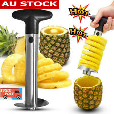 Stainless Steel Easy Kitchen Tool Fruit Pineapple Corer Slicer Cutter Peeler RK