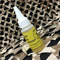 NEW Gold Cup Paintball Marker Gun Oil Lubricant - 1oz