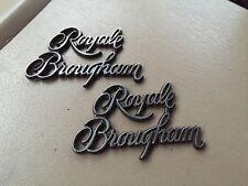 87 88 89 90 91 Oldsmobile Delta 88 Royale Brougham Sail Panel Emblem Set Of 2