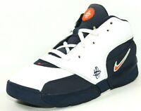 Nike Huarache 64 PS 313458 411 Basketball Boys Shoes Leather White Blue Rare