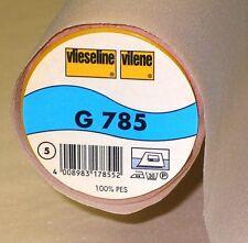 (8,44€/m²) Vlieseline G785 90cm breit Farben: haut, schwarz, rohweiß