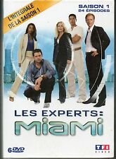COFFRET 6 DVD LES EXPERTS MIAMI INTEGRALE SAISON 1 NEUF