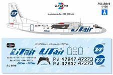 Revaro Decal An-24В UTair for Veb Plasticart 1/100