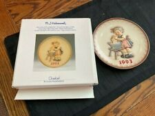 "Hummel Goebel ""1993"" Annual Plate "" Doll Bath - # Hum 289 In Box"