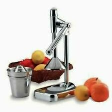 Heavy Duty Stainless Steel Manual Press Orange Citrus Juicer Juice Extractor