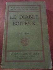 Le Sage: Le Diable Boiteux / La Renaissance du Livre, non daté