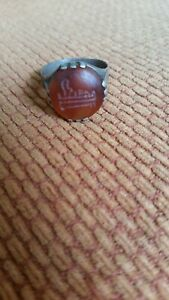 Mens antique Sterling silver ring
