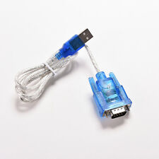 USB a puerto serie RS232 DB9 9 pin macho com port Converter Cable adaptador_k