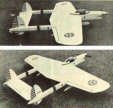 """Model Airplane Plans (UC): CRUSADER 52"""" Stunt for .35 Engine by Charles Mackey"""