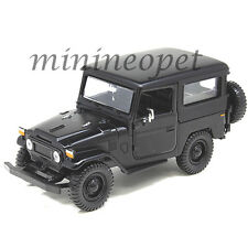 MOTORMAX 79323 TOYOTA FJ40 FJ 40 LAND CRUISER 1/24 DIECAST MODEL CAR MATTE BLACK