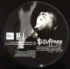 """BUSTA RHYMES - Turn It Up (Remix)/Fire It Up (12"""") (G/NM)"""