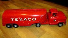Vintage Buddy L 1950's Texaco Gas Tanker Truck 24