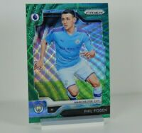 Phil Foden Panini Prizm Green 2019-2020 #159 EPL Manchester City Football Card