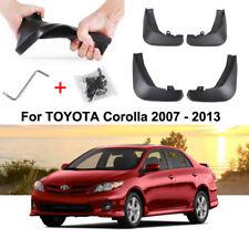 Auto Car Mud Flaps Splash Guard Fender Mudguard for TOYOTA Corolla 2007 - 2013