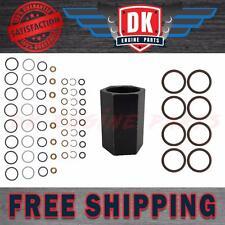 Ford 6.0L Powerstroke Oil Rail Leak Repair Kit (Tool,O-rings,Injector Seal Kits)