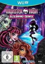 Monster High: Aller Anfang ist schwer Nintendo Wii U DVD-Box Game Spiel NEU OVP