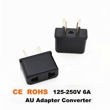 Universal Travel Power Plug AdaptOr Converter US EU EURO to AU AUSTRALIAN _sx