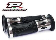 Progrip Poignée En Caoutchouc Aluminium Argent Honda CB 600 Hornet PC41 CB600