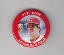 1984 Fun Foods Pins - Pete Rose - #4 - Cincinnati Reds - NrMt-Mt