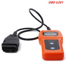 Auto Scanner Code Reader Diagnostic Reset Tool OBD2 OBDII ABS Engine Reset U281