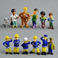 12Pcs/Set anime Fireman Sam action figure figure PVC Figures doll toys 3-6cm Toy