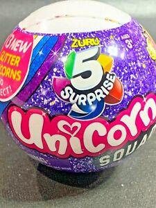 ZURU 5 Surprise Glitter Unicorn Squad Blind Balls ~New Factory Sealed Unsearched