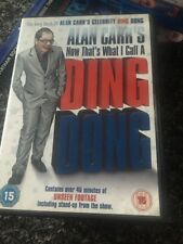 Alan Carr's Now That's What I Call A Ding Dong (DVD, 2008)