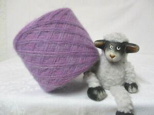 """Wolle-100g/3€ """"flieder uni Wolle und flieder Mohair"""" Wolle/Mohair-super weich"""