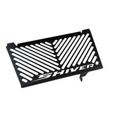Aprilia Shiver 750 Kühlerschutz Kühlergitter Kühlerverkleidungl Black Logo