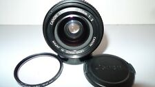 【 EXC +3 】Canon New FD 24mm f/2 NFD mf Lens SLR w/ filter From JAPAN 「29350」