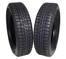 MASSFX ST205/75D15 Bias 6 Ply Trailer Tire 2 Pack Tires 205/75-15 205 75 15