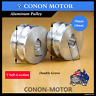Double-groove Pulley 70mm shaft size 19mm