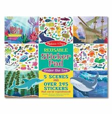 Melissa & Doug Reusable Sticker Pad - Under the Sea #30500 BRAND NEW