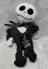 "The Nightmare Before Christmas Jack Skellington 13"" Dog NEW Pet Toys Squeaker"